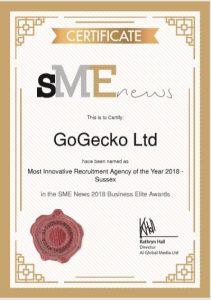 GoGecko Wins Award